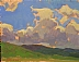 Fast Clouds by Glenn Dean Oil ~ 8 x 10