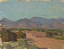 Road to Santa Fe by Glenn Dean Oil ~ 6 x 8