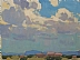 Summer Clouds by Glenn Dean Oil ~ 6 x 8