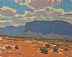 Blue Mesa by Glenn Dean Oil ~ 8 x 10