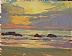 Sunset Color by Glenn Dean Oil ~ 6 x 8