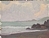 Gentle Shores by Glenn Dean Oil ~ 6 x 8