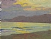 Colorful Shoreline by Glenn Dean Oil ~ 6 x 8