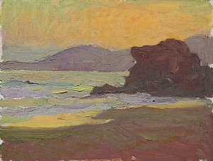 Evening Hues by Glenn Dean Oil ~ 6 x 8