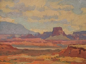 Desert Color by Glenn Dean Oil ~ 11 x 14