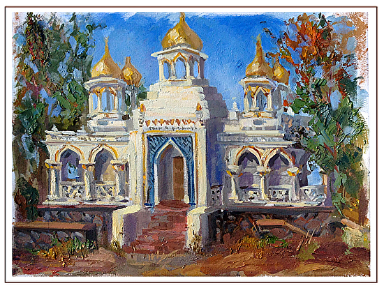 temple of christ - Oil