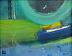 """Pausing in Orbit by Lee Muslin Acrylic ~ 11"""" x 14"""""""