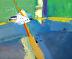 "Flying High by Lee Muslin Acrylic ~ 20"" x 24"""