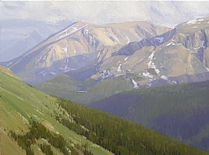 A View from the Top by Stacey Peterson Oil ~ 30 x 40