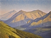 High Country Sunset by Stacey Peterson Oil ~ 18 x 24