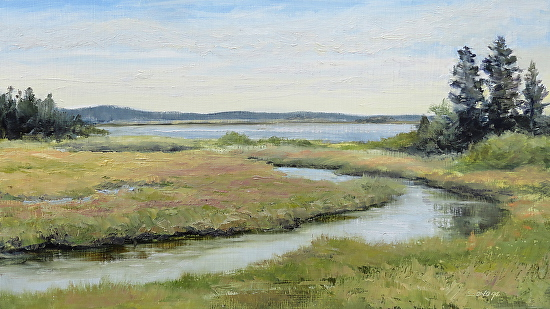 Off South Lubec Road - Oil