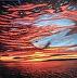 Late July Sunset on Little Traverse Bay by Trisha Witty