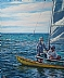 """Afternoon Bliss at Sturgeon Bay"" by Trisha Witty Oil ~ 24 x 20"