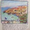 View from Hotel Zafir - Matala,Crete