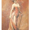 lady with a cane