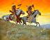 """Pawnee Sunset"" by Bud Bradshaw"