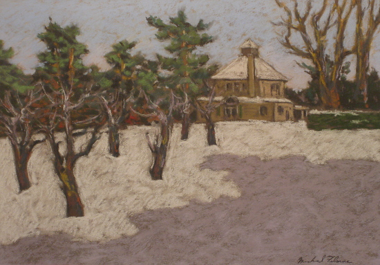 Chesterwood-Winter Landscape - Pastel