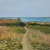 "Beachscape study 1 by Garland Mattox Oil ~ 36"" x 24"""