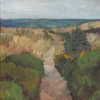 "Beachscape study 2 by Garland Mattox Oil ~ 16"" x 20"""