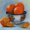 Clementines with Bowl