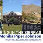 Monika Johnson - Spring in the Sierras Plein Air Oil Painting Workshop
