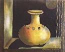 "Clay Jar I by Lorraine Duncan Acrylic ~ 10"" x 8"""