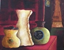 "Jars of Clay II by Lorraine Duncan Acrylic ~ 16"" x 20"""