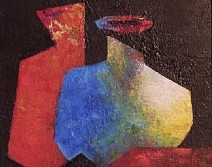 "Alter Ego by Lorraine Duncan Acrylic ~ 8"" x 10"""