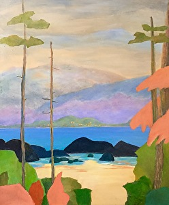 """Tranquility by Lorraine Duncan Acrylic ~ 24"""" x 20"""""""