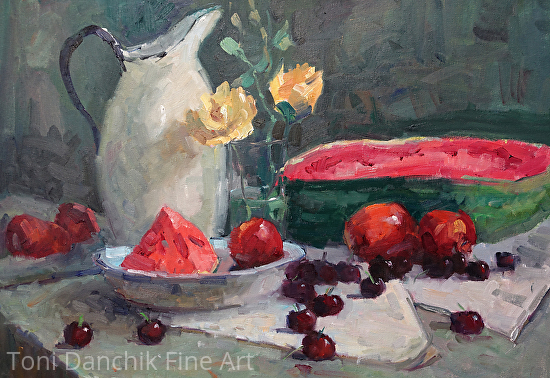 Summer Watermelons - Oil