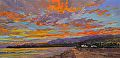 Coastal Color by John Powell Giclee on Canvas ~ 10 x 20