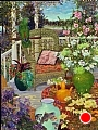 Afternoon Hideaway by John Powell Oil ~ 40 x 30