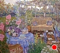 Afternoon Tea by John Powell Oil ~ 36 x 40