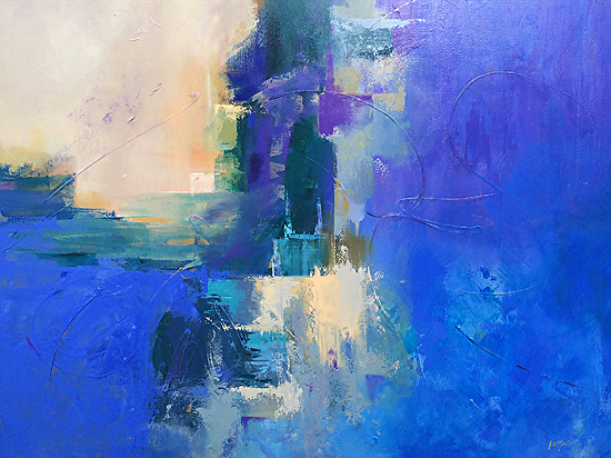 Into the Blue - Acrylic