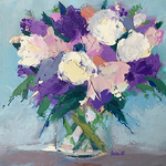 Kimberlee Maselli - Inspired Florals with Palette Knife or Brushes (Live Webinar)