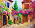 Provence Village by Ines Epperson