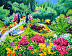 Butchart Gardens by Ines Epperson