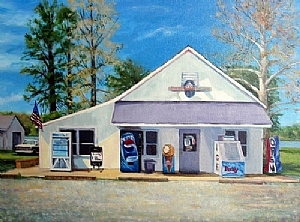 Open For Business by Cecelia Lyden Acrylic ~ 22 x 28