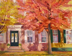 AUTUMN GLOW by Cecelia Lyden Oil ~ 11 x 14
