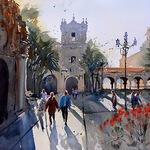 Michael Holter NWS - Online Watercolor Impressionism: Landscape
