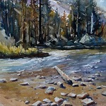 Michael Holter NWS - Watercolor Impressionism: Landscape/Cityscape