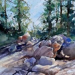 Michael Holter NWS - Watercolor Impressionism - Landscape