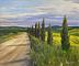 Road to Tuscany by Jay Johnson