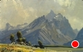 Afternoon Shadows by Conrad Schwiering by  Tierney Fine Art Oil ~ 12 x 18