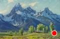 Alpine Spring by Conrad Schwiering by  Tierney Fine Art Oil ~ 12 x 18
