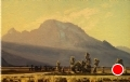 Evening Crosslight - Mount Moran by Conrad Schwiering by  Tierney Fine Art Oil ~ 12 x 18