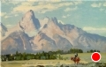 Herding In by Conrad Schwiering by  Tierney Fine Art Oil ~ 12 x 18