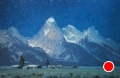 Mountain Moonlight by Conrad Schwiering by  Tierney Fine Art Oil ~ 20 x 30