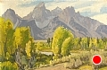 When Seasons Change by Conrad Schwiering by  Tierney Fine Art Oil on Canvas ~ 12 x 18