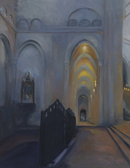 Cathedral at Basel - Oil